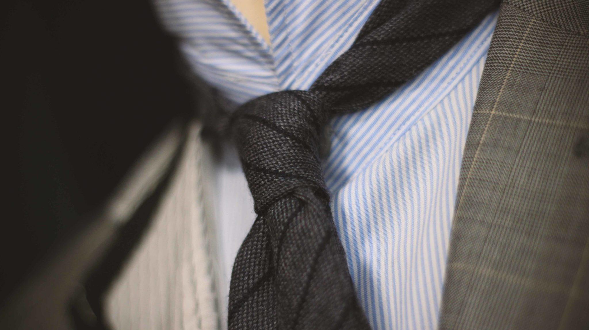 el origen de la corbata